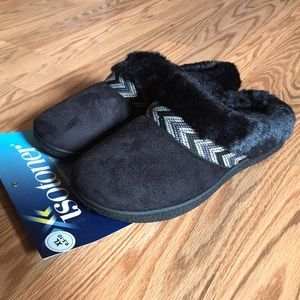 Comfy Black Slippers